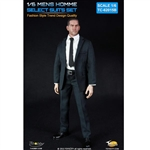 Uniform Set: Toys City Mens Hommes Fashion Suits Set - Stripes (TCT-62015B)