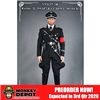 Uniform Set: Toys City Waffen-SS Officer's Black Service Uniform Set (TCT-62019)