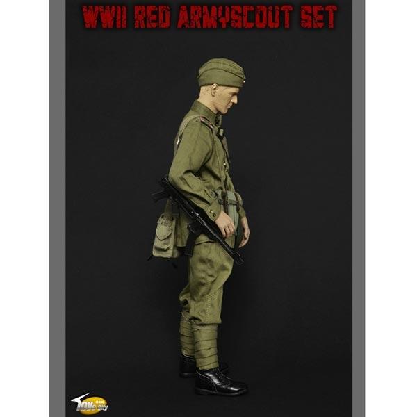 Monkey Depot Uniform Set Toys City 1 6 Wwii Red Army Scout Set