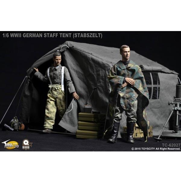 Monkey Depot Tent Toys City Wwii German Staff Tent Stabzelt Tc