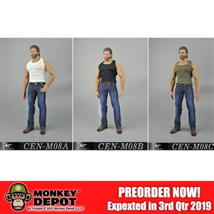 Clothing Set: Toy Center Tank + Jeans Set (CEN-M08)