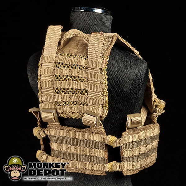 Monkey Depot - Harness: Toys City MLCS H-Harness Coyote MOLLE