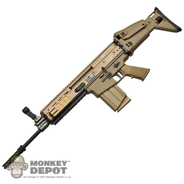 monkey depot rifle toys city mk17mod0 scar h assault rifle