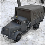 Boxed Vehicle: Toy Model Opel Blitz Truck in Panzer Gray (TML-1505)