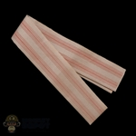 Scarf: Third Party Pink Striped Scarf