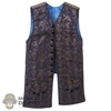 Vest: Third Party Mens Brown + Blue Vest