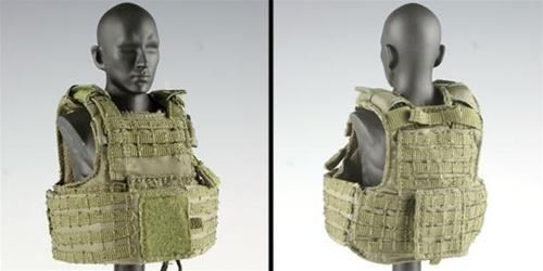 VestrbavLand VestToy Body Ciras Armor Green Releasable Ranger Soldier SUzpGVqM