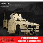 Boxed Vehicle: Taowan 1/6 Full Metal M-ATV MRAP All-Terrain Vehicle