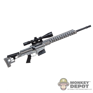 Rifle: Toys Works Barrett MRAD Rifle w/Scope