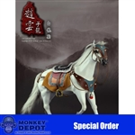 Boxed Figure: 303 - Three Kingdoms Series Zhao Yun Horse (303T-105) (MDSO)