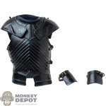 Armor: ThreeZero Brienne of Tarth Black Chest + Arm Guards