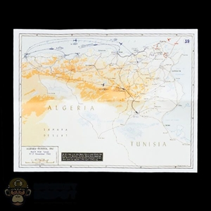 Map: Ujindou Algeria/Tunisia Map