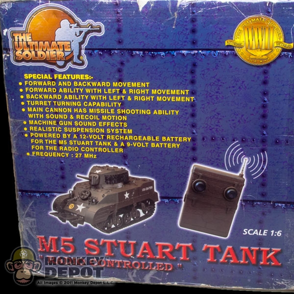 M5 Stuart RC Tank by 21st Century Toys Pry Bar