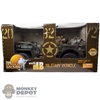 Boxed Vehicle: 21st Century Toys 1/6 WWII US Military Jeep w/Figure (12905)