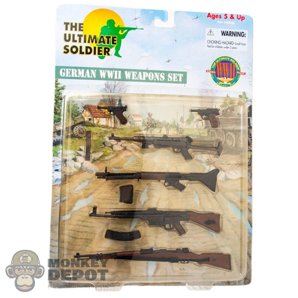 Carded Set: 21st Century Toys WWII German Weapons Set (60030) *READ NOTES