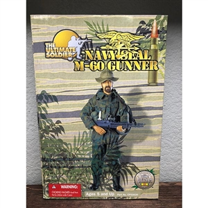 Boxed Figure: 21st Century Navy Seal M-60 Gunner (33620)