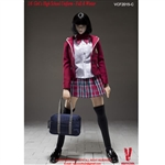 Clothing Set: Very Cool Girl's High School Uniform Set C (VCM-2015C)
