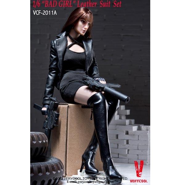 Monkey Depot Clothing Set Very Cool Bad Girl Black