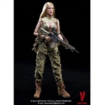 Boxed Figure: Very Cool Very Cool Female Shooter CP Camouflage (VCF-2021A)
