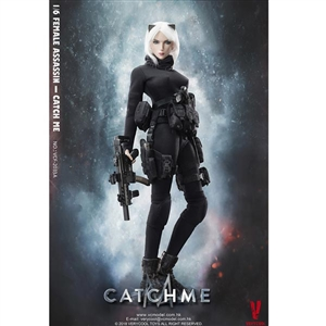 "Boxed Figure: Very Cool Female Assassin ""Catch Me"" (VCF-2033A)"