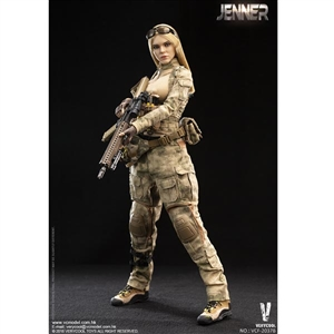Very Cool A-TACS FG Women Soldier - Jenner (VCF-2037B)