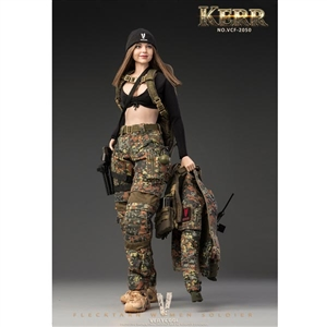 Very Cool Flecktarn Woman Soldier Kerr (VCF-2050)