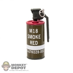 Grenade: Very Cool Red Smoke Grenade