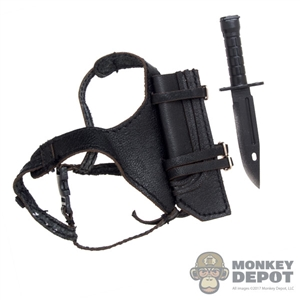 Harness: Very Cool Black Female Harness w/Knife & Sheath