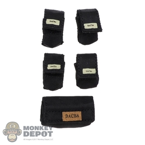 Pouch: Very Cool Small Black Pouch Set