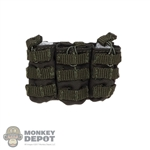 Pouch: Very Cool OD Green Triple Ammo Pouch (MOLLE)