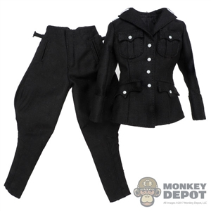 Uniform: Very Cool Female SS Black Uniform