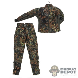 Uniform: Very Cool Female Flecktarn Tactical Uniform