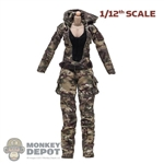 Figure: Very Cool 1/12 Female Base Body w/Camo Jumpsuit