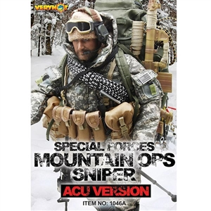 Uniform Set: Very Hot Special Forces Mountain OPS Sniper (ACU Version) (VH-1046A)