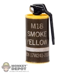 Grenade: Very Hot Smoke Canister Yellow