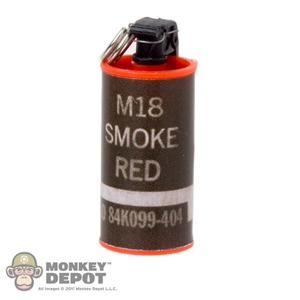 Grenade: Very Hot Smoke Canister Red