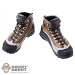 Boots: Very Hot Black/Brown Combat (No Ankle Pegs)