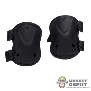 Pads: Very Hot Modern Knee Black (Molded)