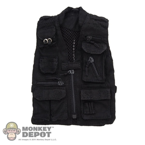 Vest: Very Hot Black CIA Vest