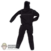 Suit: Very Hot Black Diving Wet Suit
