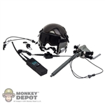 Helmet: Very Hot HALO UDT Jumper Helmet w/Oxygen Mask