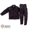 Uniform: Very Hot Black Jacket & Pants