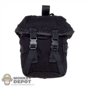 Pouch: Very Hot Black Drop Leg Bag