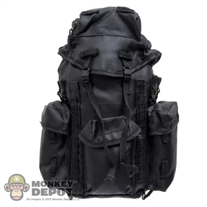 Pack: Very Hot Large Black Hiking Backpack