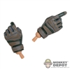 Hands: Very Hot Multi-Colored Tactical Gloves
