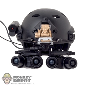 Helmet: Very Hot FAST Ballistic Helmet w/NVG & HD Camera
