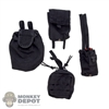 Pouch: Very Hot Black Pouch Set