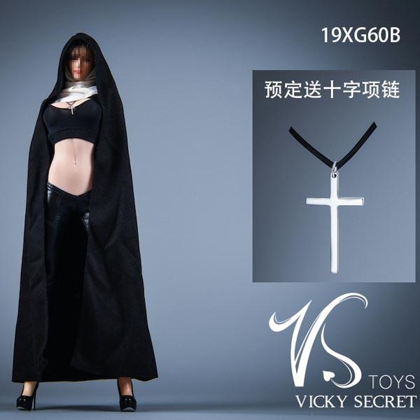 """VSTOYS 1//6 19XG60 Church Nun/'s Girl Costume Fit 12/"""" Female PH TBL Action Figure"""