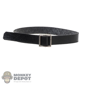 Belt: VS Toys Female Black Leather-Like Belt