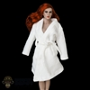 Robe: VS Toys White Bathrobe